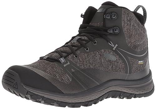 Keen Terradora Waterproof Mid, Zapatos de High Rise Senderismo para Mujer, Beige (Raven