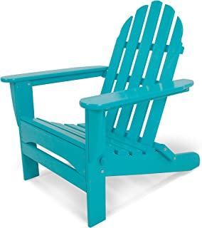"product image for POLYWOOD AD5030AR Classic Folding Adirondack Chair, Height: 35.00"" - Width: 29"" - Depth: 35.00"", Aruba"
