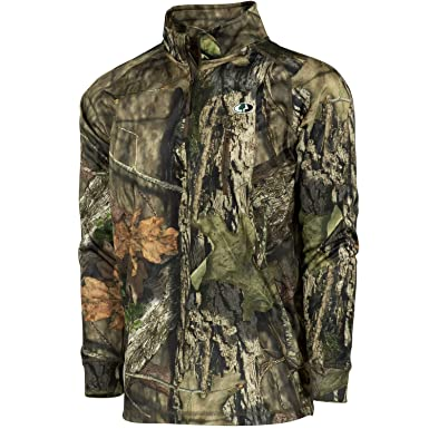 3b742771de46b Amazon.com: Mossy Oak Performance Quarter Zip Camo Pullover: Clothing