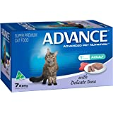 Advance 12291 Adult Cat Delicate Tuna Wet Food 7 x 85g