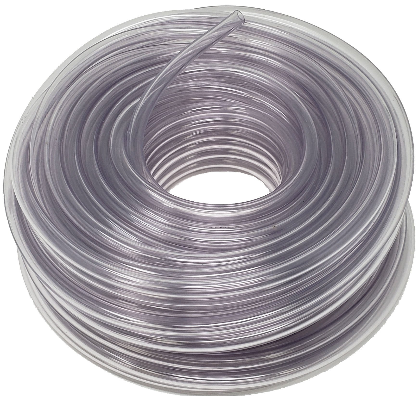 Sealproof Unreinforced PVC Clear Vinyl Tubing, 100 FT, 1/4-Inch-ID x 3/8-Inch OD