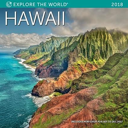 Amazon.: Hawaii Wall Calendar 2018 : Office Products