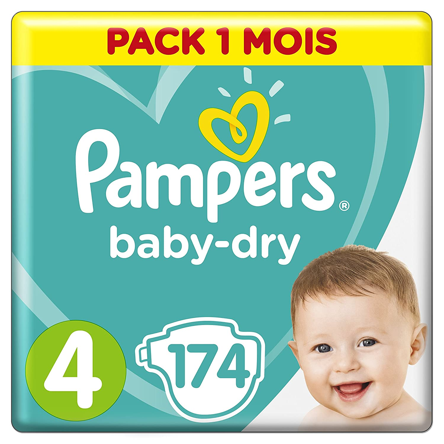 Pampers baby dry couches taille 4 9 14 kg pack 1 mois pampers baby dry couches taille 4 9 14 kg pack 1 mois x174 couches amazon hygine et soins du corps fandeluxe Images