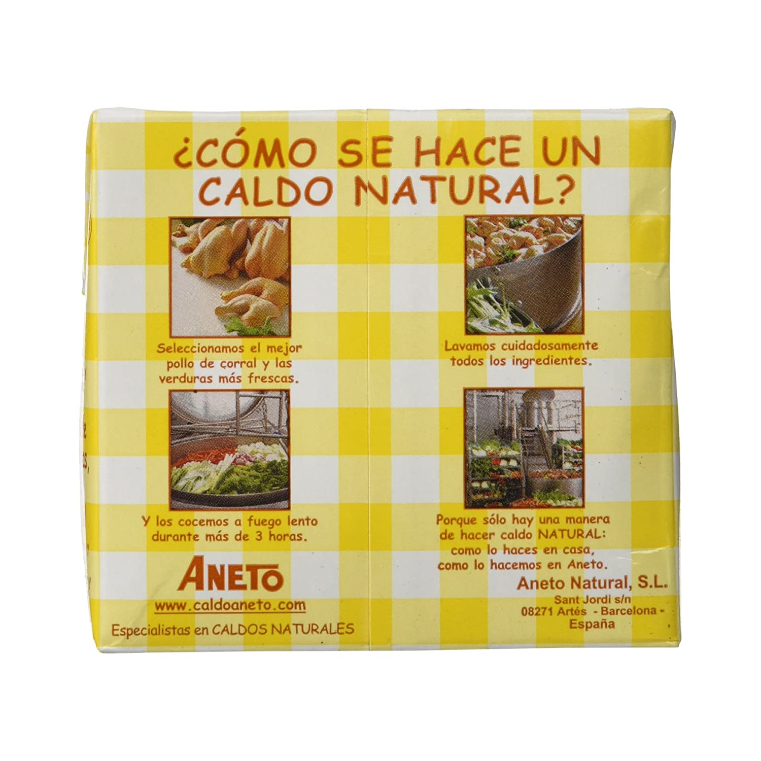 Aneto Caldo Natural de Pollo - 500 ml: Amazon.es: Amazon Pantry