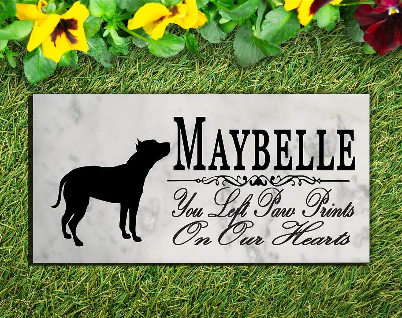Marble Pet Memorial Custom Personalized