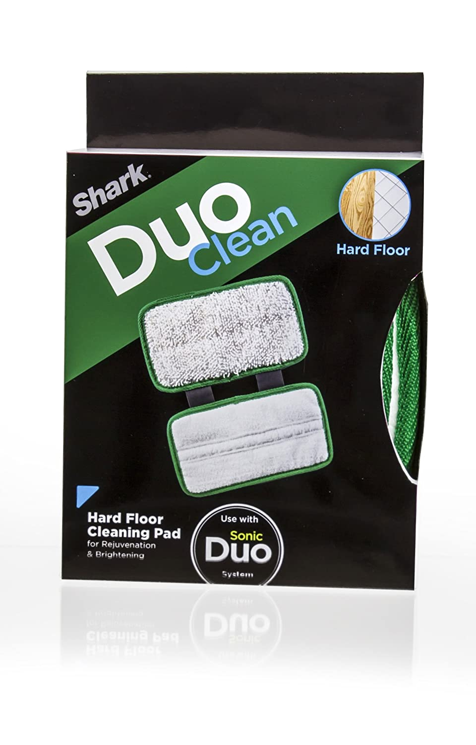 Shark Wood & Hard Floor Washable Cleaning Pad for Use Sonic Duo System (XTRU800)