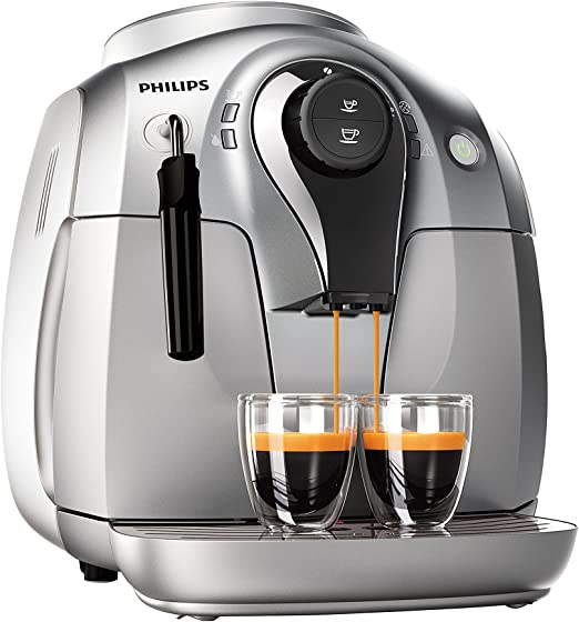 Philips HD8651/31 - Cafetera automática, 1 l, 1400 W, color gris ...