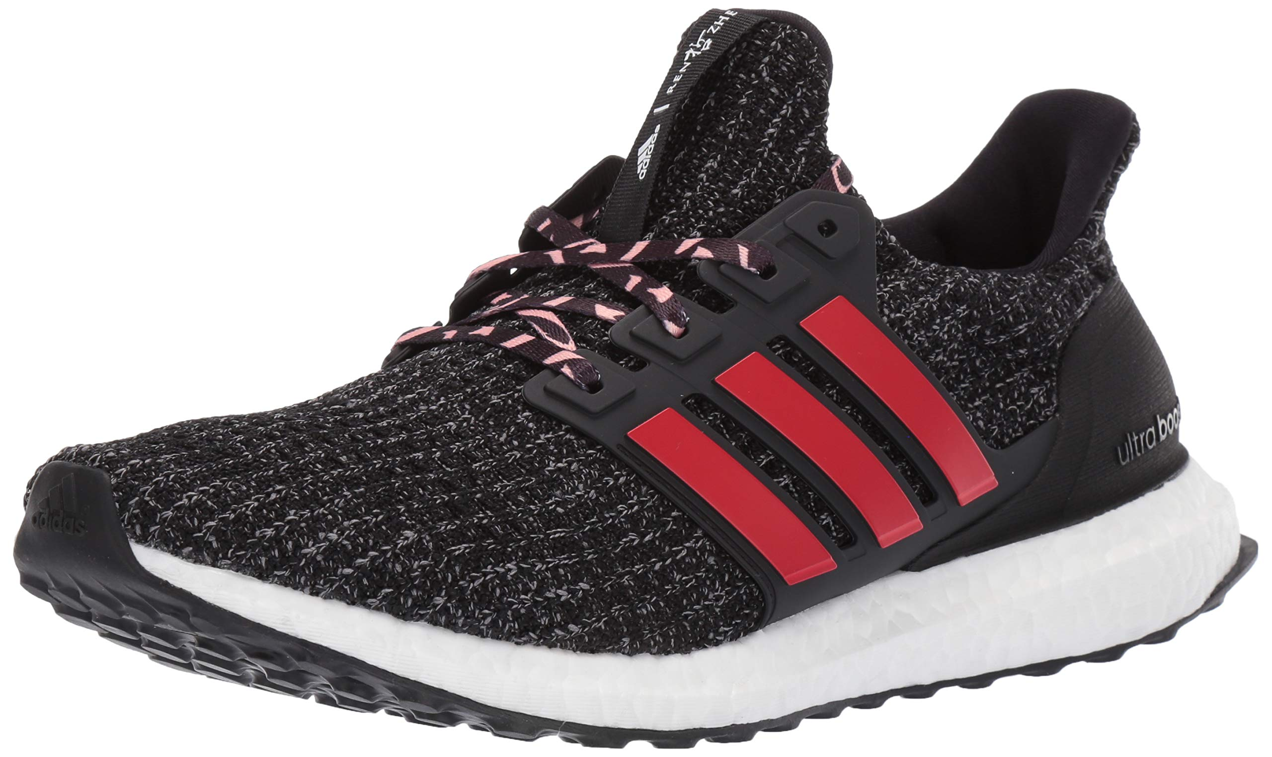 adidas Men's Ultraboost, Black/Scarlet/Grey 4 M US by adidas (Image #1)