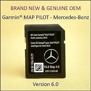 Amazon com: 2018 Mercedes-Benz Garmin MAP PILOT Navigation GPS SD