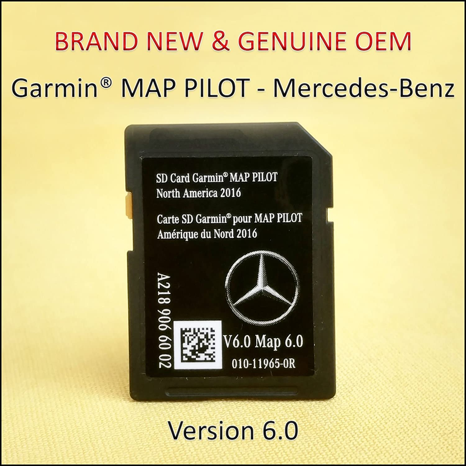 VJZ Genuine 2014 2015 2016 2017 Mercedes-Benz Navigation System SD Card Map Chip GPS CLA CLS GLA E-Class OEM