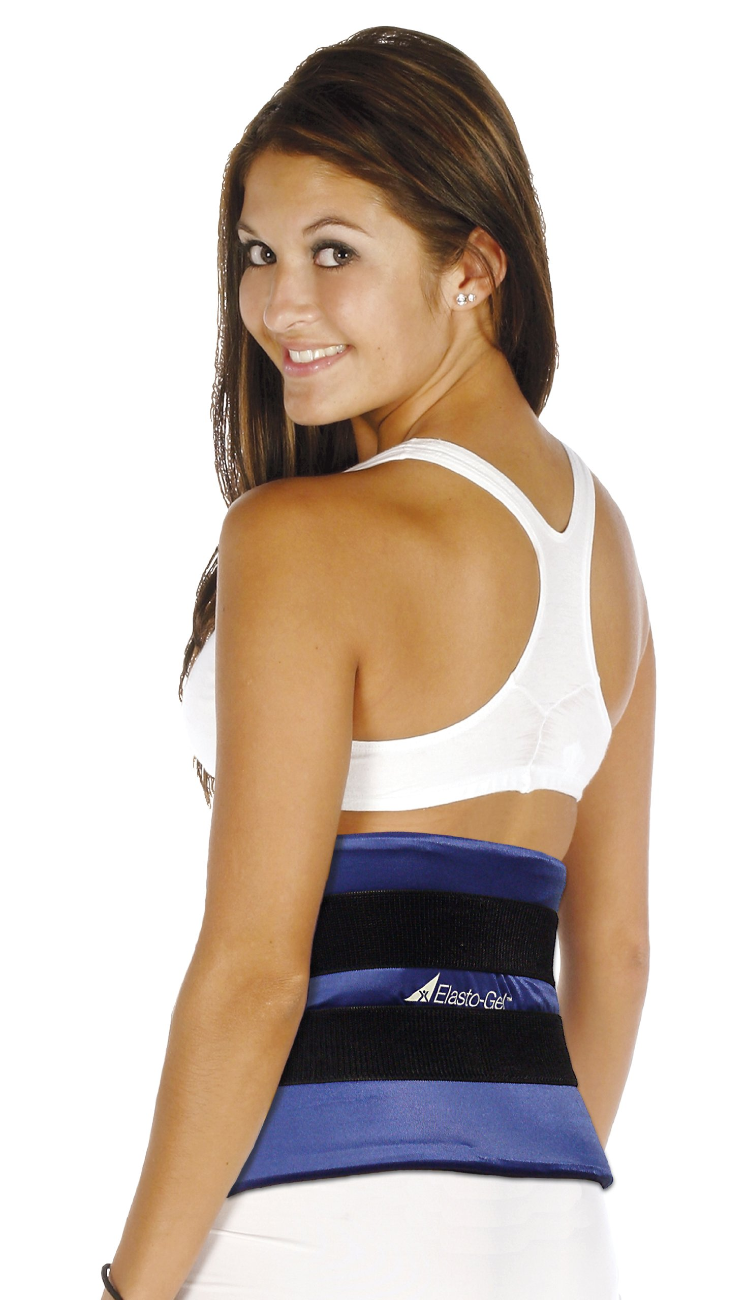 Elasto-gel Therapy Wrap, Hot/cold Pack , 9'' X 24'' Made Utilizing a Tough, Flexible, High-glycerin Gel That Is Covered with a Four-way Stretch Material That Allows Maximum Conformity, Hot and Cold Transfer, and Comfort