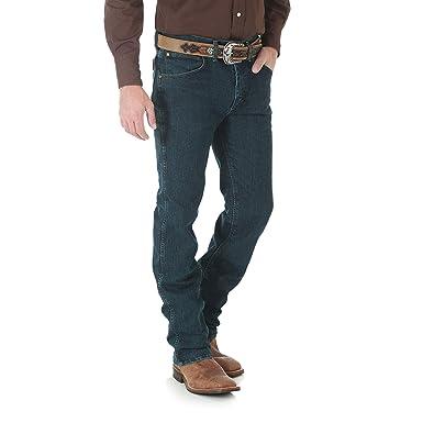 692a44bc Wrangler Men's Premium Performance Advanced Comfort Cowboy Cut Slim Fit  Jeans at Amazon Men's Clothing store: