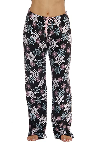 9cf272be42c 6339-10167-XS Just Love Women's Plush Pajama Pants - Petite to Plus Size