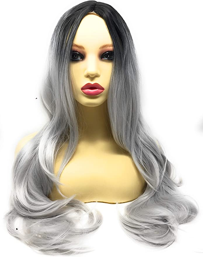 Ladies Mens Wig Disfraz Disfraz Halloween Party Accesorio Rojo ...