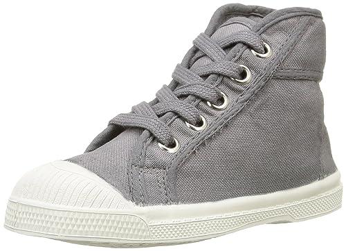 Bensimon Tennis Mid - Zapatillas Altas De Deporte Para Exterior, Unisex Infantil, Gris (817 Gris Moyen), 32: Amazon.es: Zapatos y complementos