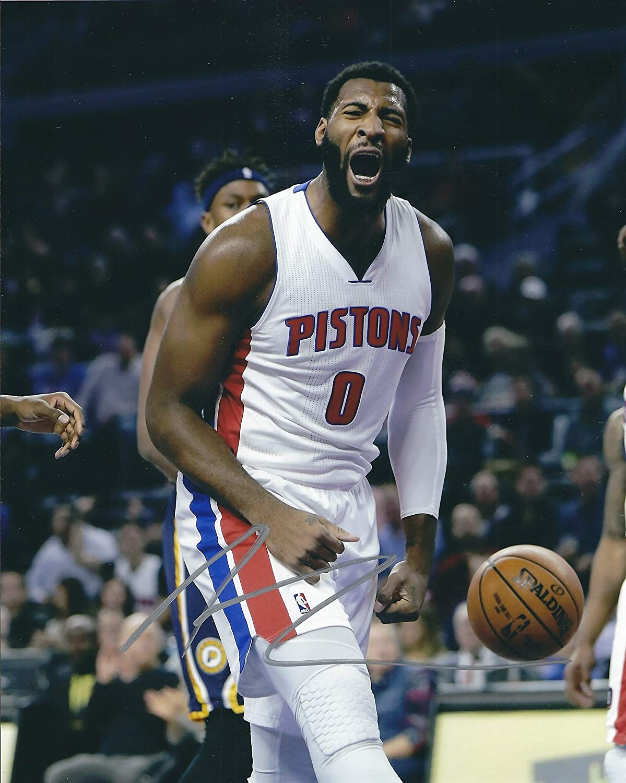 Autographed Andre Drummond 8x10 Detroit Pistons Photo