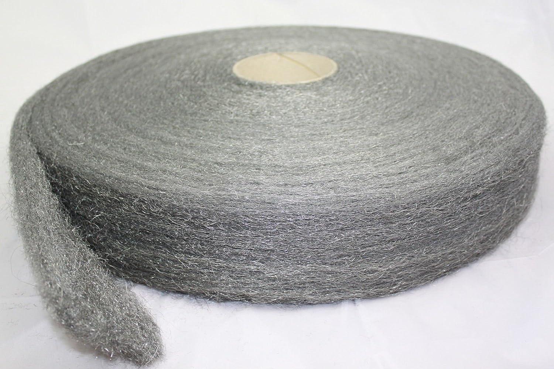 Kaba Silencieux Coton 1 kg 800 ° C Pot d'é chappement de Laine Coton Meule en Acier Inoxydable