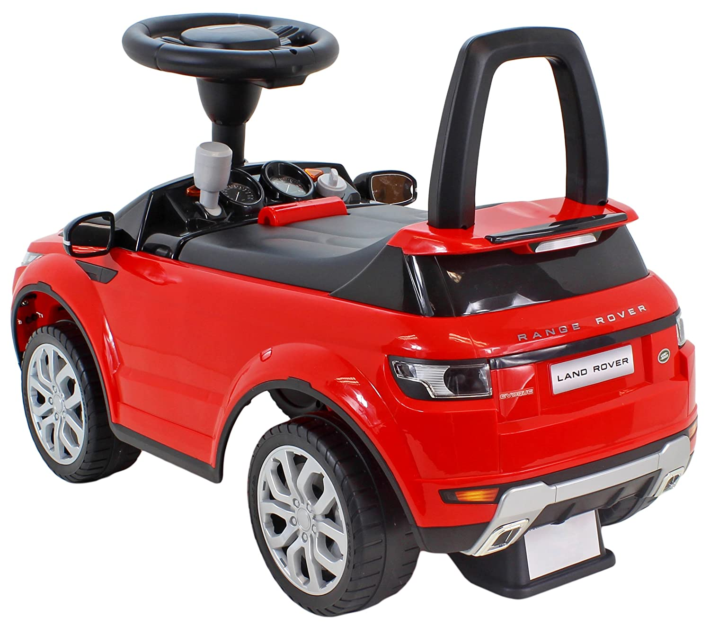 moleo 5902729204590 Land Rover Evoque antideslizante Auto Antideslizante patín de vehículo niños Auto Brazo con volante para controlar, Claxon y función de ...