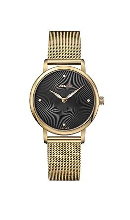Amazon.com  Wenger Women s Classic Swiss-Quartz Watch with Stainless-Steel  Strap 78b212eb2e8