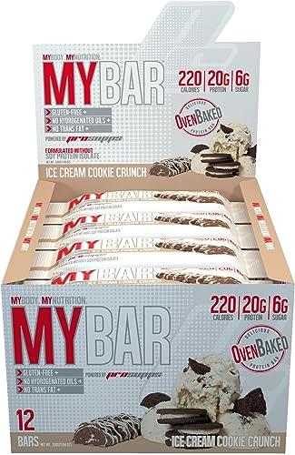 Pro Supps - Barra de proteína helado galleta crujiente al horno ...