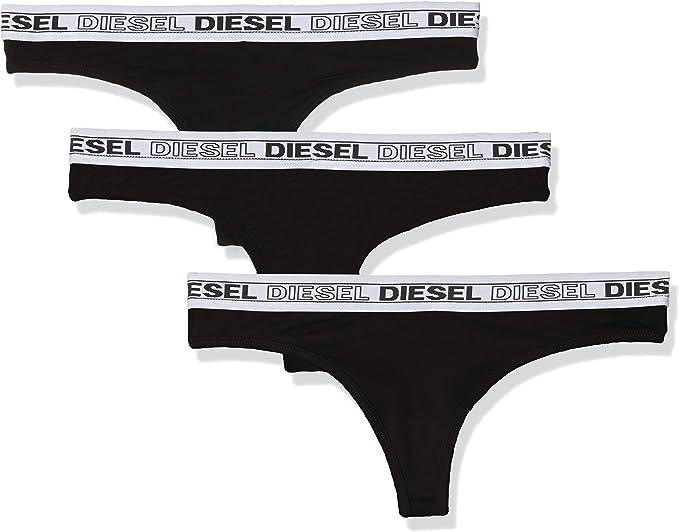 Diesel UFST-STARS-THREEPACK, Tanga para Mujer, Pack de 3: Amazon ...