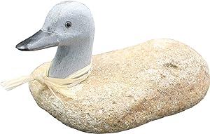 "Stone Age Creations AN-DU-06 6"" Boulder Duck"