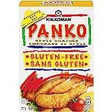 Kikkoman Gluten-Free Panko Bread Crumbs, Japanese-Style Bread Crumbs for Baking and Frying - High Quality - Unseasoned…