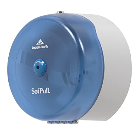 Georgia-Pacific SofPull 56500 Splash Blue High-Capacity Centerpull Bathroom Tissue Dispenser: Cleaning Supplies Dispensers: Amazon.com: Home Improvement