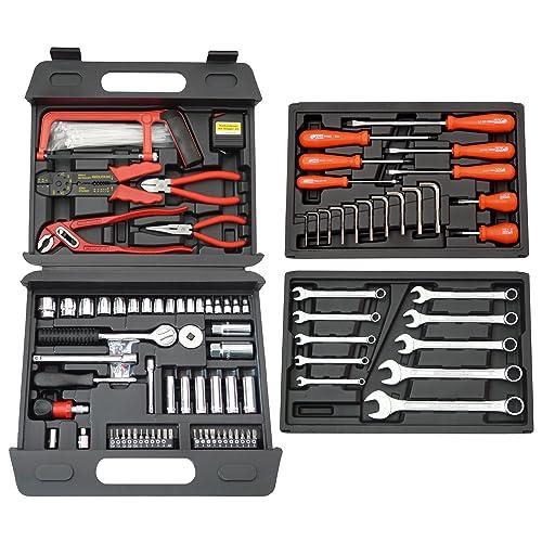 Famex Mallette à outils universelle 156 pièces (Import Allemagne)