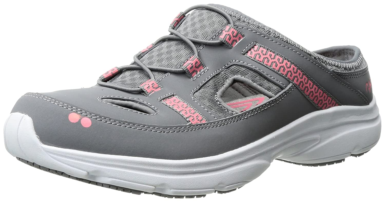 Ryka Women's Tisza Athletic Sandal B01KWFYIDW 7 W US|Grey/Coral