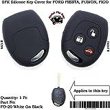 SFK Silicone Remote Key Cover for New Ford Fiesta/Fusion / Figo (for 3 Button Remote Key)