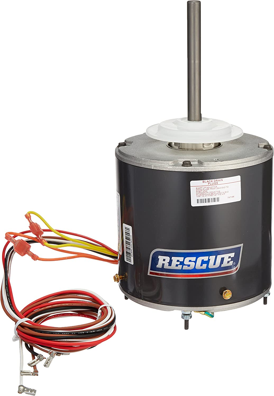 U.S. Motors RESCUE Condenser Fan Motor 1/3 HP to 1/6HP 208-230V 1-Phase  60Hz 825 RPM 2-Speed (Emerson Nidec Protech Rheem #5464) - Electric Fan  Motors - Amazon.com | Rescue Blower Motor Wiring Diagram |  | Amazon.com