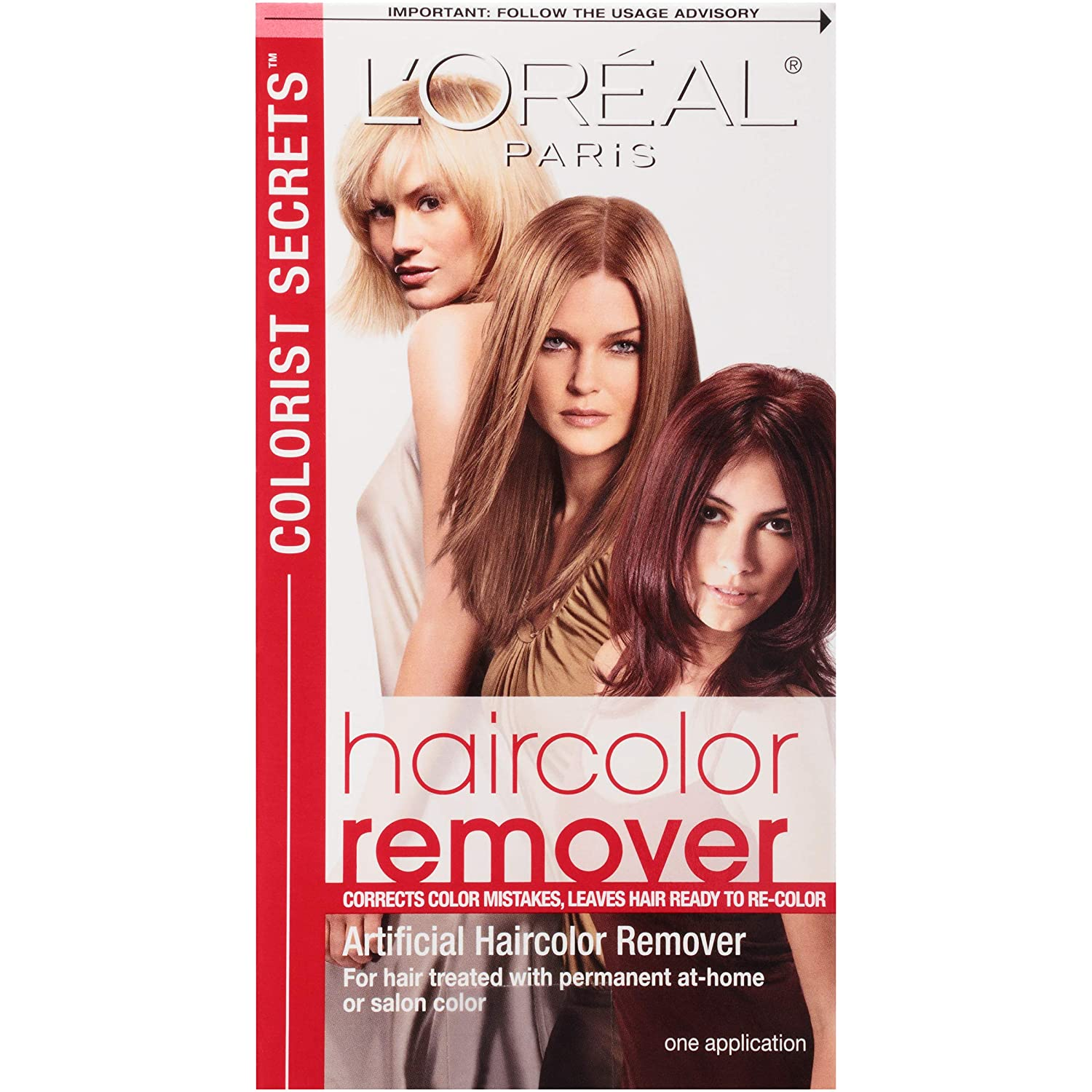Amazon Loral Paris Colorist Secrets Haircolor Remover Hair