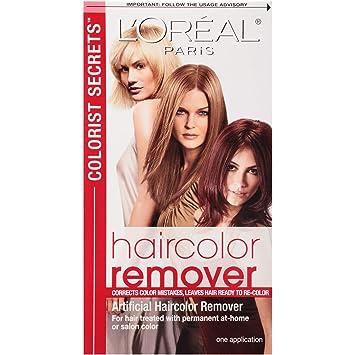 Amazon Loral Paris Colorist Secrets Haircolor Remover Hair