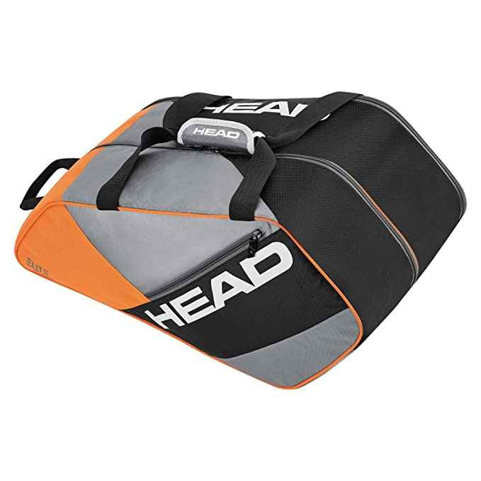 Head Elite Supercombi Bolsa Pádel, Unisex Adulto, Gris/Naranja ...