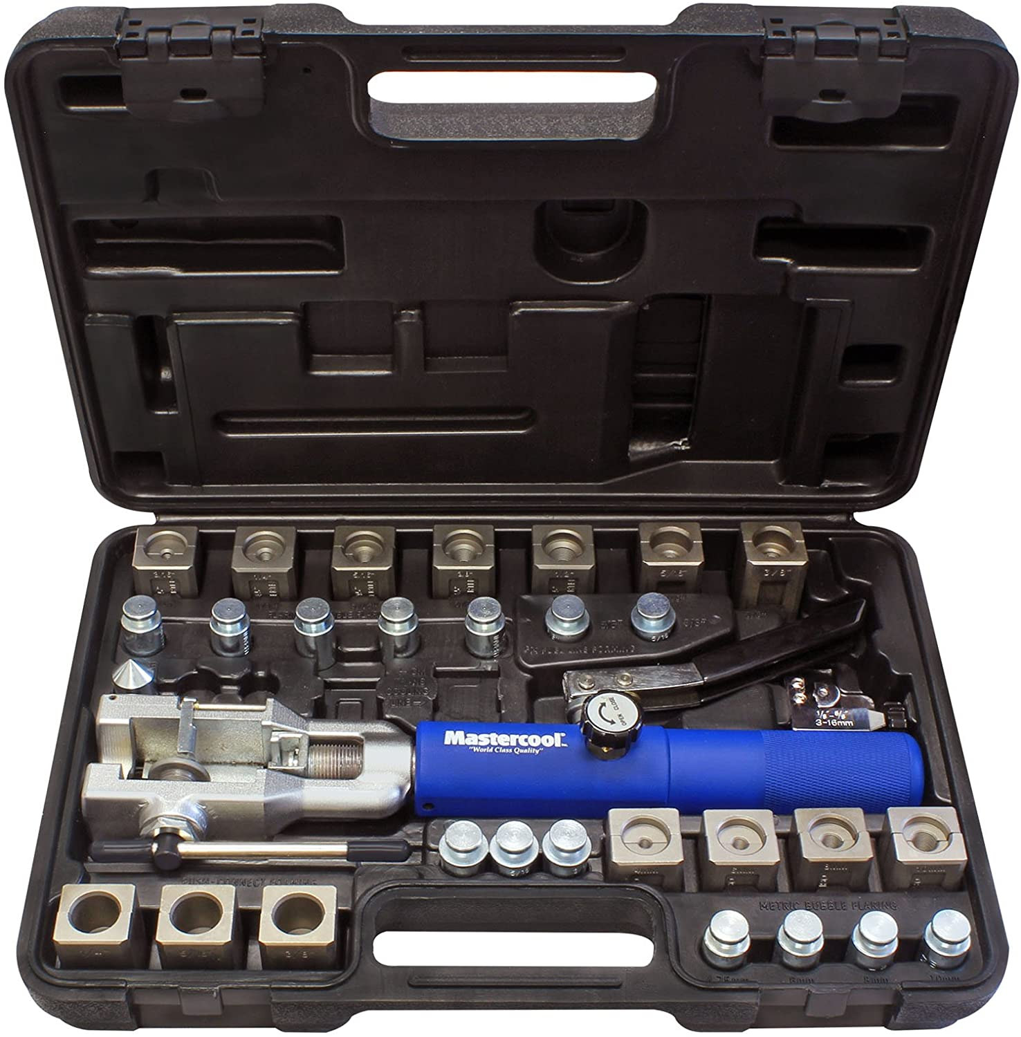 MASTERCOOL 72475-PRC Flaring Tool Set with Tube Cutter
