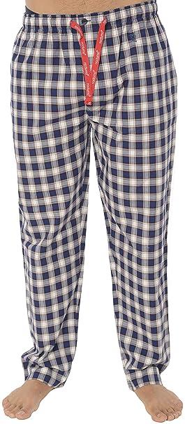 eaaaf97a49 El Búho Nocturno - Pantaloni Pigiama Lunghi a Scacchi da Uomo |  Abbigliamento da Notte Classico