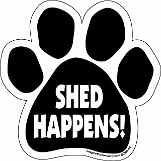 """Imagine This Car Magnet- Paw-Shed Happens-5.5"""" x 5.5"""""""