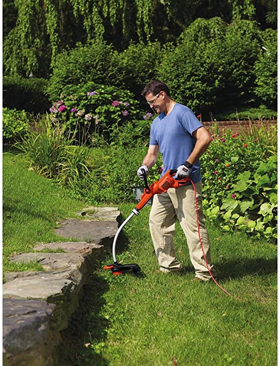 BLACK+DECKER GH3000 High Performance 7.5-Amp Electric String Trimmer, 14
