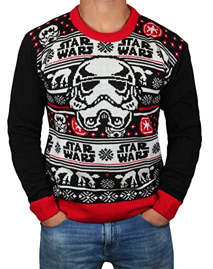 Horrible Christmas Sweaters.Star Wars Ugly Christmas Sweaters Star Wars Holiday Darth Vader Storm Trooper Sweatshirts By Miracle