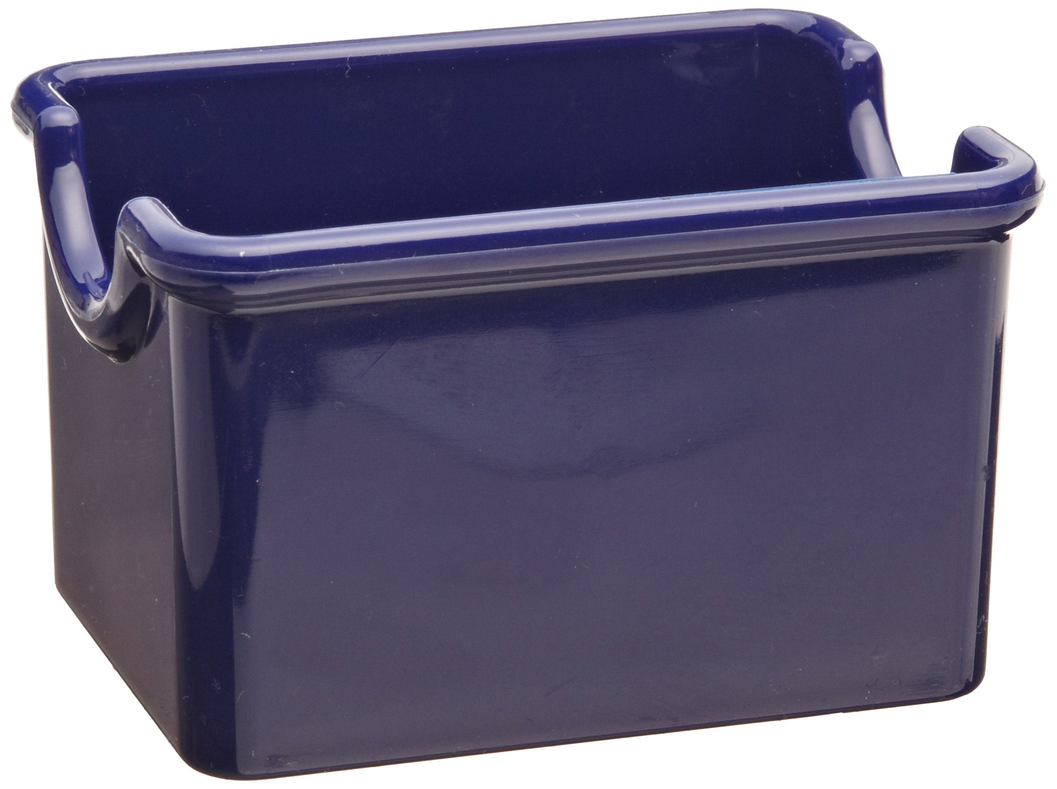 Carlisle 455060 Styrene Sugar Caddy, Cobalt Blue
