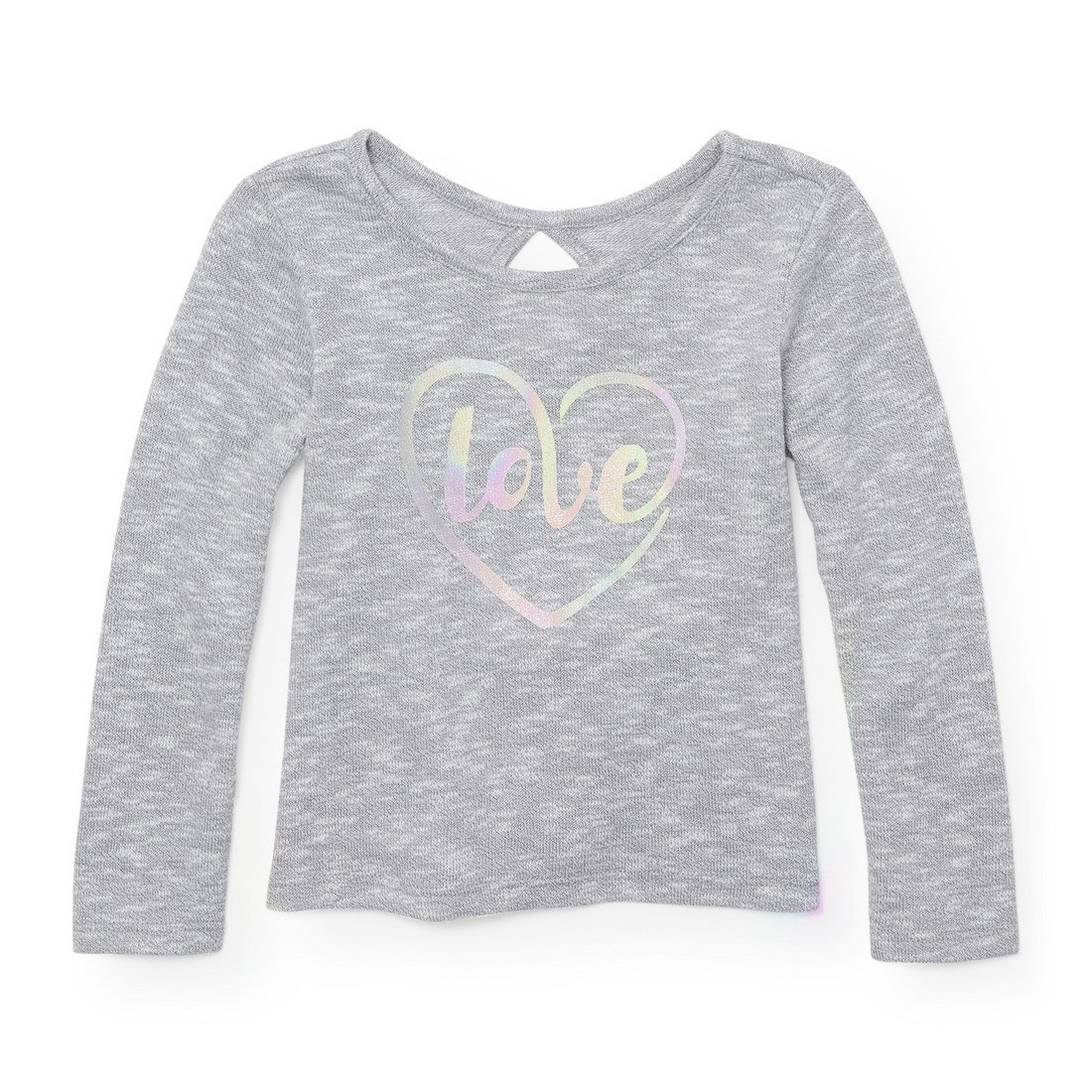 The Children's Place Baby Girls' Long Sleeve Key Hole Top The Children's Place