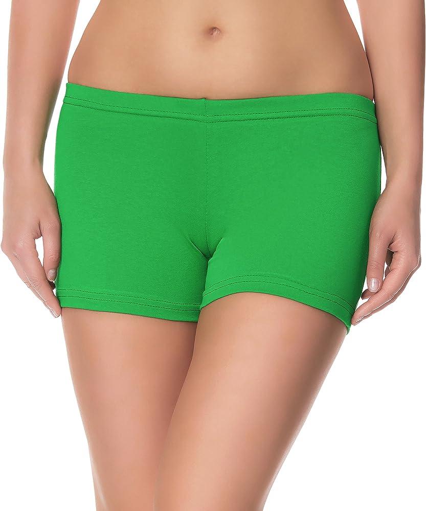 984adc4fc1 Short Culotte Pantalon Legging Court Sport Yoga Pants Vêtement Tenue de Sport  Femme LAMA05. Ladeheid Short pour Femme LAMA05 (Vert4, XS/S (Taille du ...