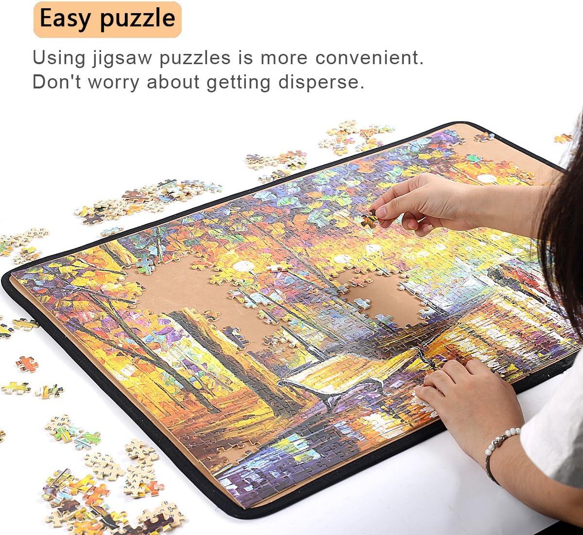 Ingooood Jigsaw puzzle Board Puzzle Mat