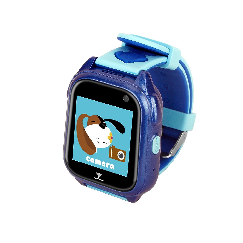 Relojes Ninos GPS con Posicionamiento de La Estación Base GPS + LBS Relojes Inteligentes Alarma de Emergencia SOS Smartwatch Niños IP67 Reloj Smartwatch ...