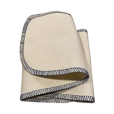 "Professional Shoe Polish Shine & Buffing Cloth | Premium Cotton Leather Cloth- 5"" X 20""(6 Pack): Automotive"