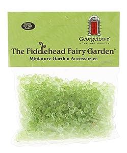 Fiddlehead Fairy Garden 8.5 Ounce Bag of Rocks for Mini Gardens (Glow in The Dark)
