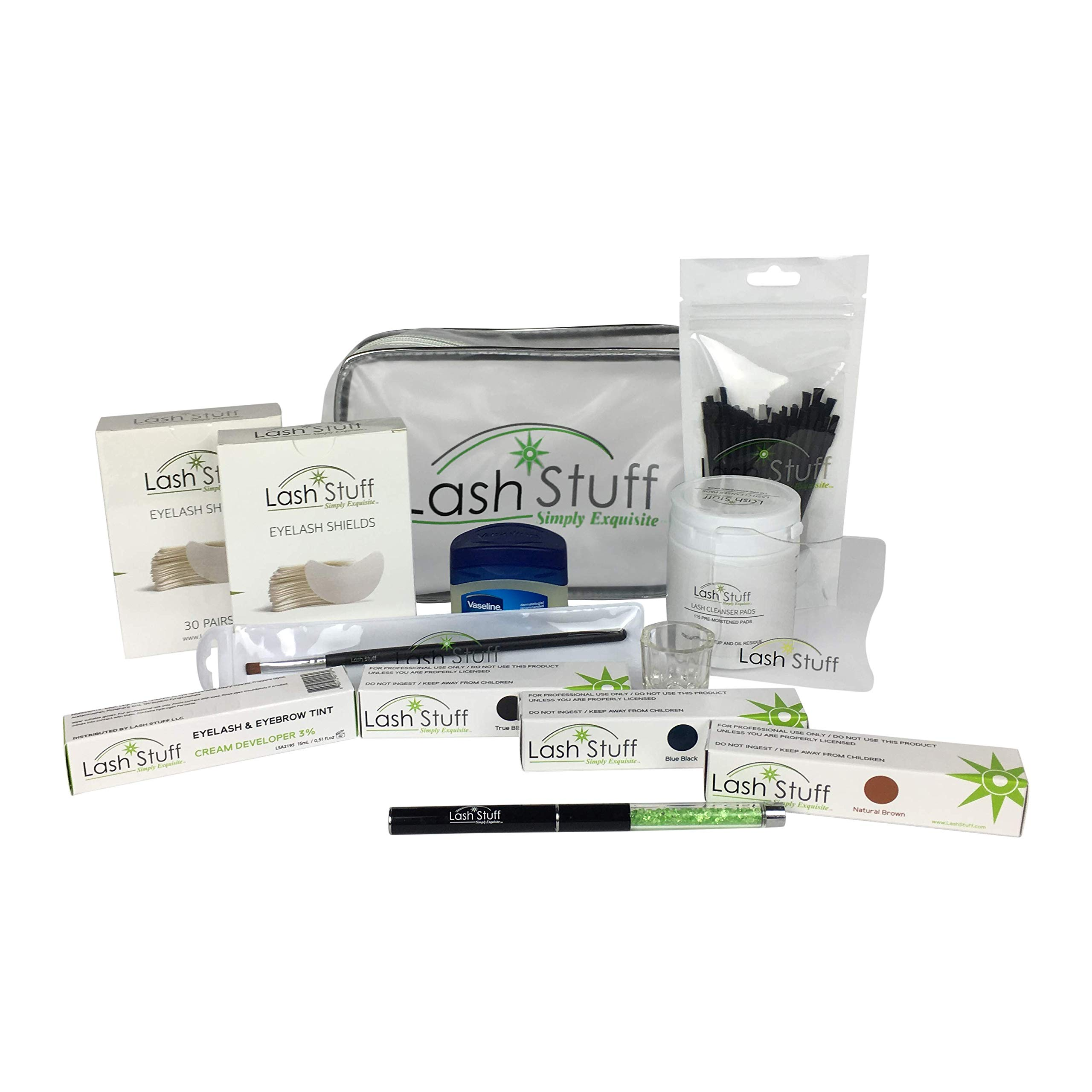 12PCS/Kit Starter False Eyelash Extension Tool Kit Set