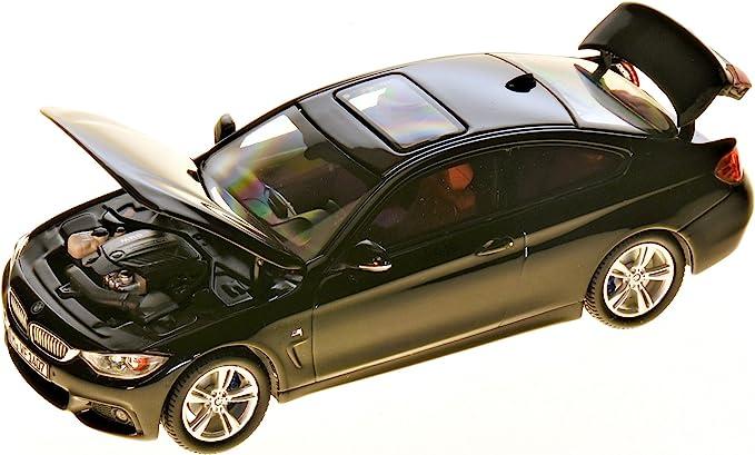 F32 BMW Original 4er Coup/é Miniatur 1:43 in Schwarz