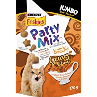Purina Friskies Party Mix Cat Treats; Gravy-Licious Chicken & Gravy Crunch - 170 g Pouch